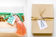 Festive Holiday Wrapping Ideas | Francois et Moi