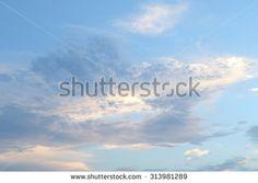 Chew sky - stock photo