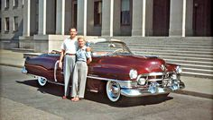 Four Fun Friday Fifties and Sixties Kodachrome Car Images | The Old Motor