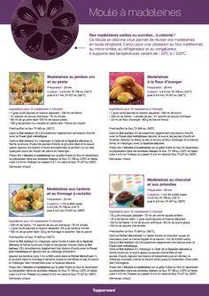 Fiche recette: Moule à madeleines - Les Macarons à la Chartreuse