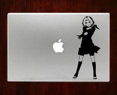 "Sakura Haruno naruto Decal Sticker Vinyl For Macbook Pro/Air 13"" Inch 15"" Inch 17"" Inch Decals Laptop Cover"