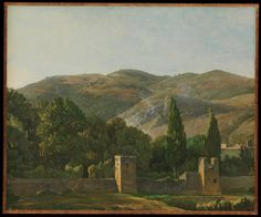 Fortified Wall, Italy, ca. 1786–1806 Simon Denis (1755–1813)