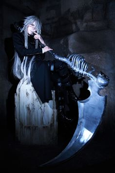 undertaker cosplay【Cosplay】葬儀屋(黒執事) 全身!^o^* http . - COSPLAY IS BAEEE! Tap the pin now to grab yourself some BAE Cosplay leggings and shirts! From super hero fitness leggings, super hero fitness shirts, and so much more th Black Butler Cosplay, Black Butler Anime, Black Butler Undertaker, Cosplay Anime, Epic Cosplay, Amazing Cosplay, Cosplay Outfits, Undertaker Cosplay, Black Buttler