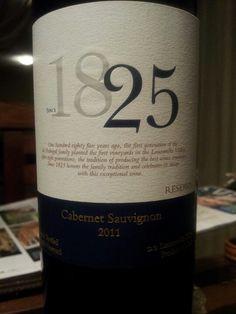 1825 - Cabernet Sauvignon 2011