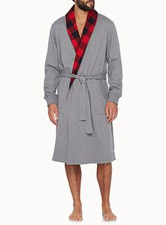 Buffalo checkered lining robe | Simons