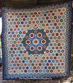 Faeries and Fibres: Block 1 of the Rowdy Flat Library Quilt and Barbara Brackman
