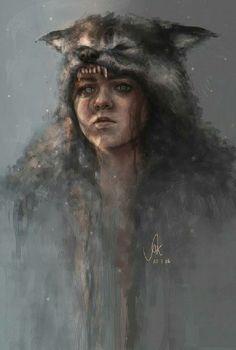 Arya Stark Wolf