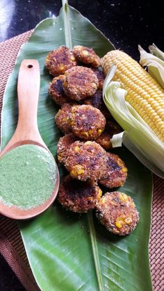 Grilled Corn Tikki: Enjoyed for breakfast or as an evening snack, corn cutlets are a favorite dish in India, especiallyduring the monsoon season. This recipe does not have flour which makes it much healthier and nutr…
