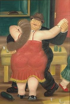 The Dancers by Fernando Botero