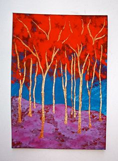 Twilight Woods 181 ARTIST TRADING CARDS 2.5 x 3.5 by MikeKrausArt