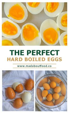 Make Perfect Hard Boiled Eggs no matter how you like the yolk. This method will show you the best boiled egg cook times for a soft yolk, medium yolk and fully cooked yolk. You will also be able to peel these eggs with ease. #healthyrecipeseasy #healthyrecipesprotein #hardboiledeggs #theperfecteggs Easy Low Carb Lunches, Easy Meal Prep Lunches, Healthy Meal Prep, Easy Healthy Recipes, Low Carb Recipes, Quick Healthy Breakfast, Healthy Breakfasts, Protein Lunch, Perfect Hard Boiled Eggs