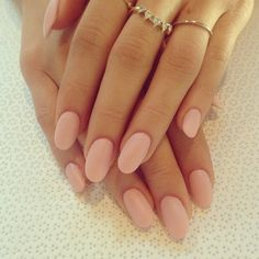 matte pink // I'm not a pink person but this is subtle and not over the top.
