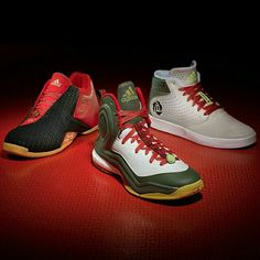 "adidas Basketball unveiled their ""Year of The Goat"" Collection. Do you like the T-Mac 3, D Rose 5 Boost or D Rose Lakeshore?"