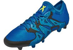 adidas X 15.1 FG/AG - Solar Blue & Yellow