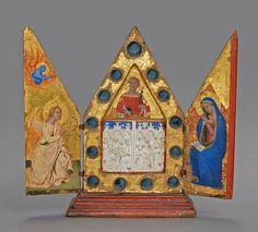 Reliquary Triptych with the Annunciation