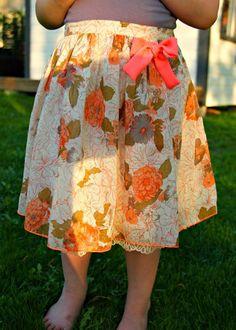 Pretty skirt, made by Kirsikka/ Mekkotehdas