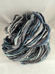 121 Yards Thick and Thin Handspun Corriedale by MommaRobsCreations, $35.00