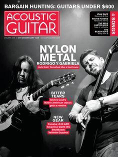 Acoustic-guitar duo Rodrigo y Gabriela rock their nylon-string Yamahas like a hurricane