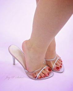 Amy's sweet feet in sandals by JayPSedan