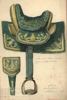 Siodłoi polskie z pocz.XVIIw/Polish saddle of the early 17th century