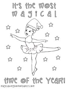 This adorable coloring sheet is available as part of our MKOD Digital Download Subscription Plan - Tip and Files for dance teachers and dance studio owners using the Magical KIngdom of Dance Curriculum based on Twinkletoes and the Magical Kindgom of Dance Encyclopedia and the Alphamat
