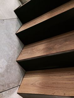 My stairs made from the palette of wood-metal-concrete!