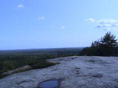 The top of Bradburry Mountain