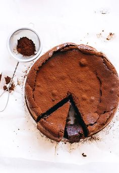 This Chocolate Fudge Almond Torte recipe is featured in the Gluten Free Desserts feed along with many more. Dessert Sans Gluten, Gluten Free Desserts, Just Desserts, Food Cakes, Cupcake Cakes, Slow Cooker Desserts, Sweet Recipes, Cake Recipes, Dessert Recipes