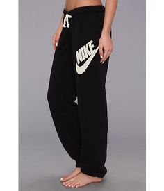 Nike Rally Signal Pants- Black. They look so comfortable.