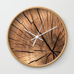 Available in natural wood, black or white frames, our diameter unique Wall Clocks feature a high-impact plexiglass crystal face and a backside hook for easy hanging. Choose black or white hands to match your wall clock frame and art design choice. Wall Clock Project, Wall Clock Design, Clock Wall, Diy Wall Clocks, Wall Art, Diy Clock, Clock Decor, Clock Ideas, Wall Decor