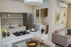 Interior Flat, Interior Design Kitchen, Interior Decorating, Puja Room, Living Room Decor Cozy, Home Decor Kitchen, Small Apartments, Decoration, House Plans
