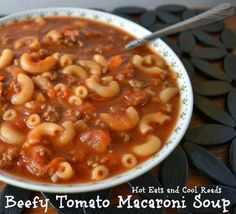 Beefy Tomato Macaroni Soup: http://backs2lifemassage.blogspot.com/2015/03/beefy-tomato-macaroni-soup.html.  Check out Wakaya Perfection. Don't get left behind. https://www.youtube.com/watch?v=dCRX4q9_lHc&feature=youtu.be   Message me after you check it out. To order Wakaya Perfection products or to join the business:   http://rchurch.mywakaya.com.   Follow me on facebook:  https://www.facebook.com/Backs2LifeMassage/.