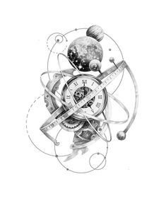 Tattoo with birth time Time Tattoos, Body Art Tattoos, Sleeve Tattoos, Tattoos For Guys, Clock Tattoo Design, Tattoo Designs, Tattoo Sketches, Tattoo Drawings, Best Tattoo Ever