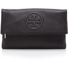 Tory Burch Clutch - Bombe Foldover (590 AUD) ❤ liked on Polyvore featuring bags, handbags, clutches, purses, foldover handbags, tory burch, fold over clutches, fold over handbag and tory burch clutches