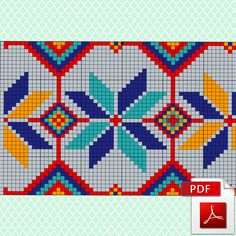 Wayuu Mochila Pattern Knitting scheme for a modern bag. 3 variants of color combinations. Folk crochet chart.  This pattern arrives as an Instant Download! All my patterns are available as high quality PDF files. To open these files you will need Adobe Reader, which you can download here for free: http://get.adobe.com/reader  A few minutes after your payment is processed, youll receive a separate email with a link to download your pattern(s) immediately.  This scheme of Crochet...