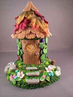 Fairy Garden Ideas on Pinterest | Fairy Houses, Polymer Clay and Polymer Clay Fairy