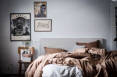 Hej hej ! How are you today? In the mood for a Swedish home tour? If so, you're in the right place! I love the relaxed feel of this two bed...