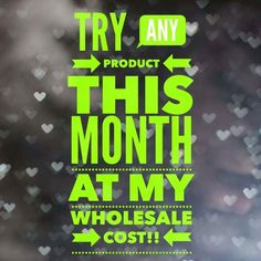 Which product have you been interested in? What's stopping you?! Email me for info at jamakaw@yahoo.com