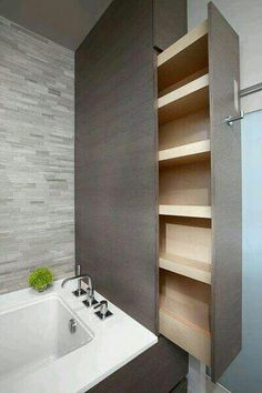 Hidden Bathroom Cabinets