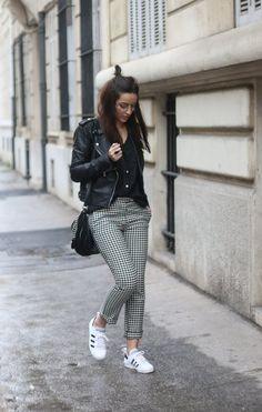8 meilleures images du tableau Pantalon carreaux outfit