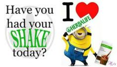Have you had your shake today-Minion   www.gailsonlinehealth.com