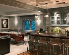 colors, pool table, bar chairs <3  Basement Design, Pictures, Remodel, Decor and Ideas - page 5