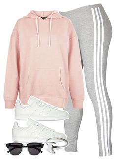 """Untitled #11833"" by vany-alvarado ❤ liked on Polyvore featuring adidas, New Look, adidas Originals, Holly Ryan and Yves Saint Laurent"