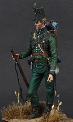 Rifle Bgde Rgt of Foot Coruna 1809 British Army Uniform, British Uniforms, British Soldier, Military Figures, Military Diorama, Rifles, Empire, Toy Soldiers, Lead Soldiers