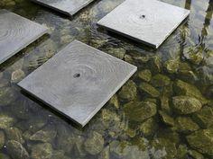 contemporary ripple pool stepping stones Hoveniersbedrijf Jan Abrahams BV