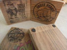 fabriquer des dessous de verre en bois diy palette