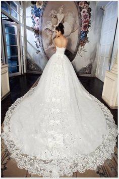 royal vintage princess wedding dresses with lace