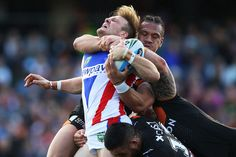NRL Rd 23 - Wests Tigers v Knights