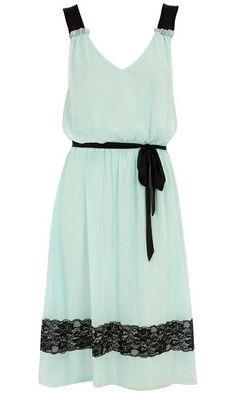 Dorothy Perkins Mint Lace Dress