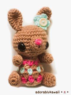 Free Pattern: Cute Little Bunny Amigurumi